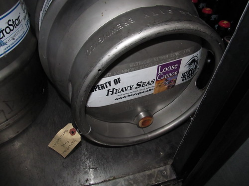 Loose Cannon firkin, resting