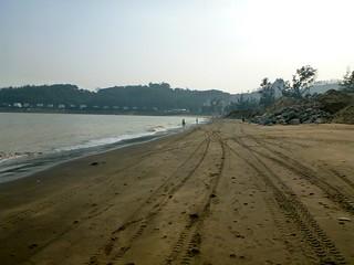 صورة Praia de Hac Sá 黑沙海灘 Hác Sá Beach قرب Macau Special Administrative Region.