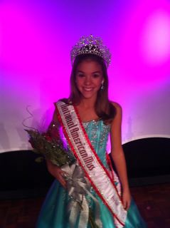National American Miss Pre-Teen Regan Spoltman of Ohio