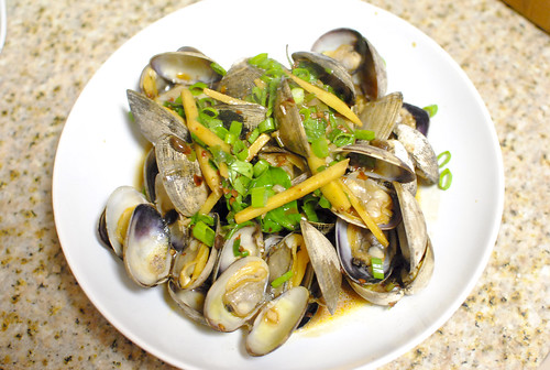 6849515352 2cd47a9a72 Clams in Black Bean Sauce