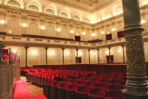 concertgebouw audience from stage right