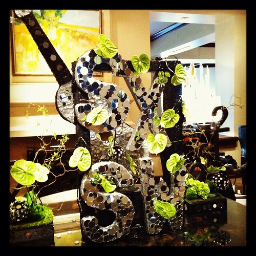 SXSW Floral Arrangement at Four Seasons Austin