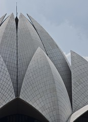Lotus Temple Close Up