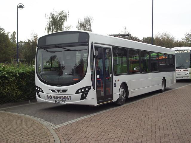 Whippet Coaches Swavesey Cambridgeshire Bg59fyb St