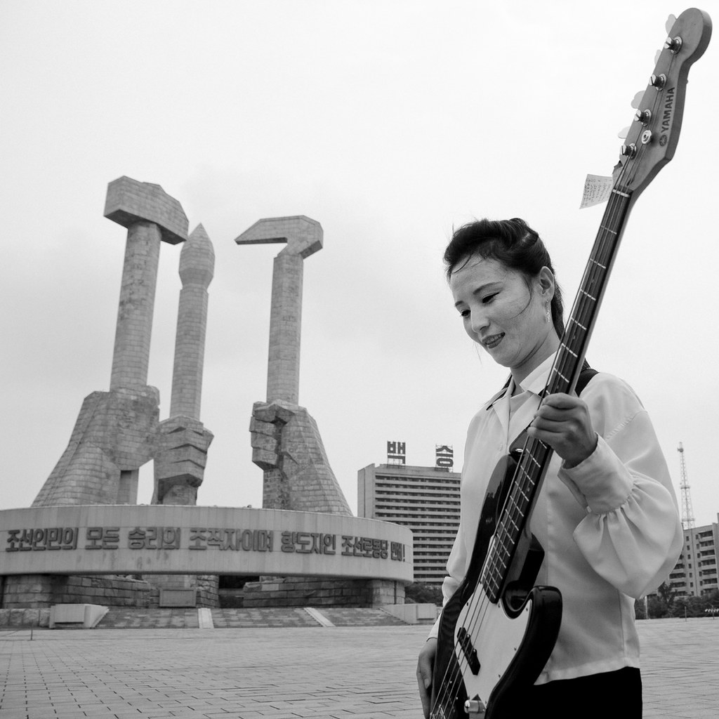 State bassist - Pyongyang North Korea