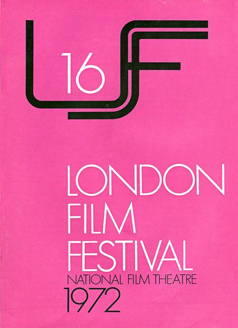 1972 London Film Festival Poster