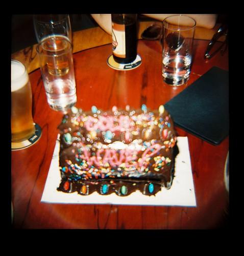 dark wave cake