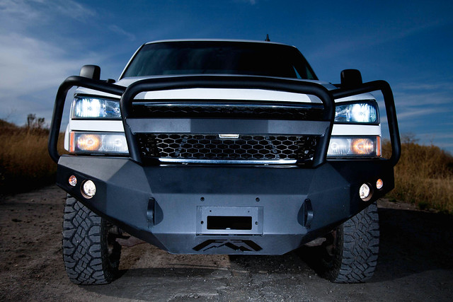 Duramax Winch Bumper : Let s see pic of front bumper page chevy and gmc