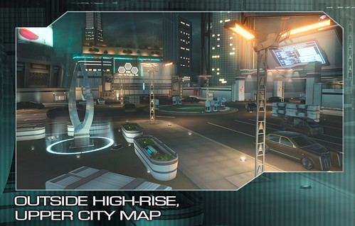 Binary Domain Pre-Order - High-rise Map