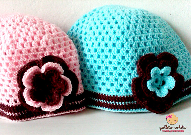 Gorros tejidos a crochet! | Flickr - Photo Sharing!