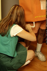 girl scout fixing wheaties costume  MG 5747