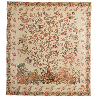 Tree of Life appliqué quilt top HT-0585