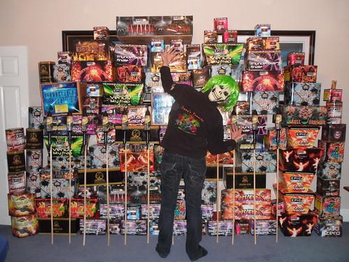 Craig's Epic Fireworks Stash 2011