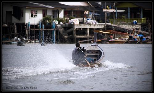 Phang Nga longtail boat
