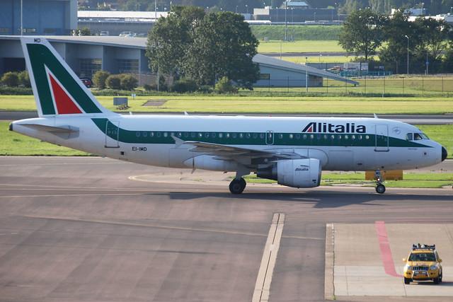 Alitalia A319-112 EI-IMD