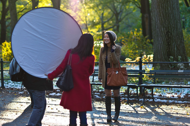 using a 5-in-1 reflector