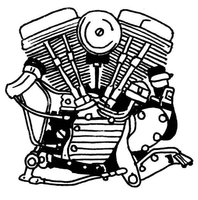 similiar panhead engine vector art keywords panhead 1948 1965 flickr photo sharing