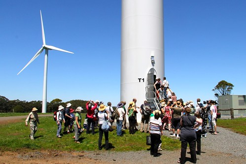 Public tour of the Hepburn Community Wind Farm