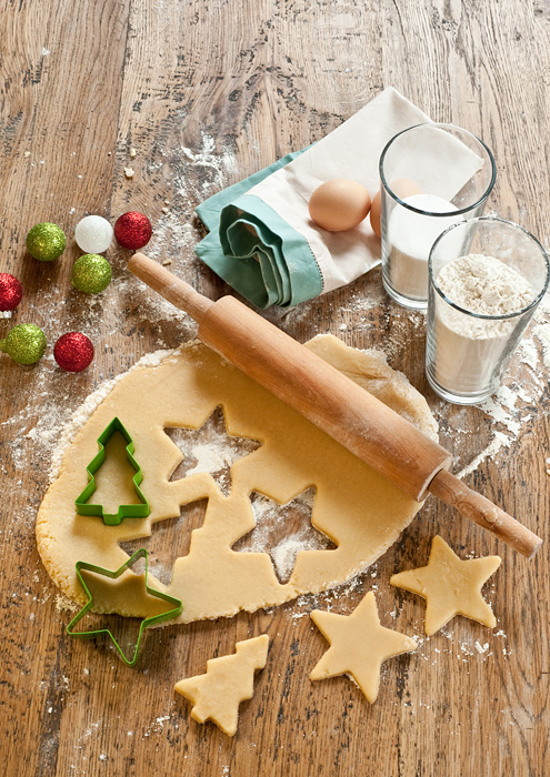 Xmas cookies ingredients