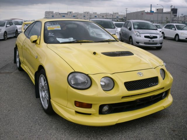 yellow toyota celica gt4 flickr photo sharing. Black Bedroom Furniture Sets. Home Design Ideas