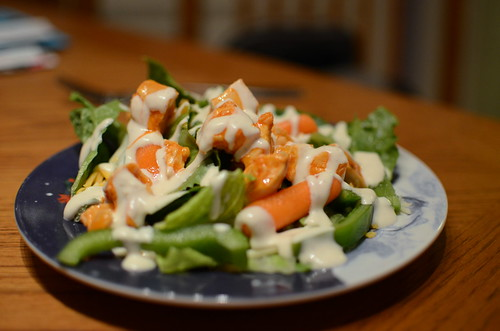 Day 320- Buffalo Chicken Salad
