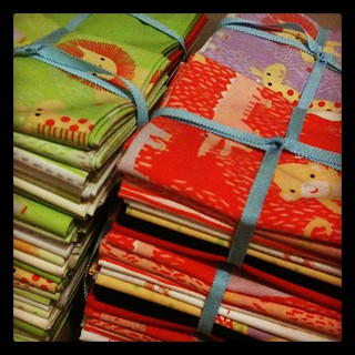 Making Safari Sweet fat quarter bundles for the upcoming @nocoastcraft fair!