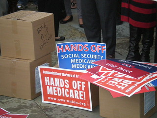 10-26-11 Press Conference to Protect Social Security, Medicare and Medicaid