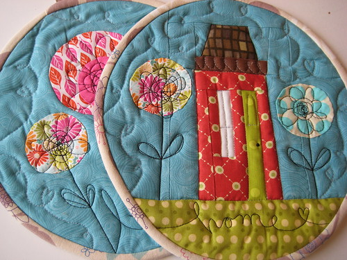 Potholders by Cynthia Frenette