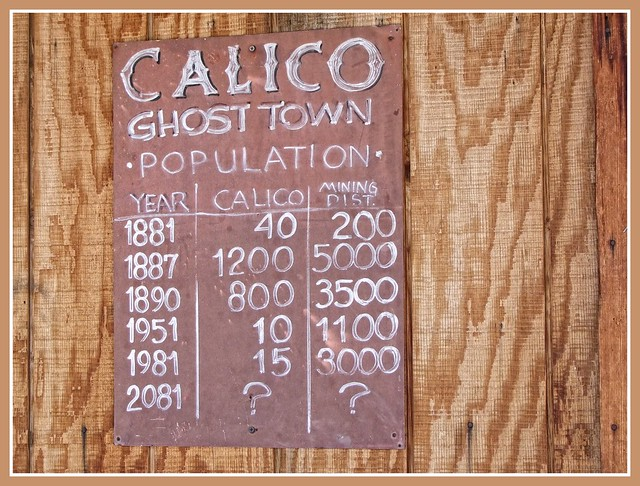 CALICO (GHOST TOWN)