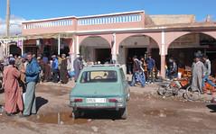 Maroko  - miasteczko po drodze