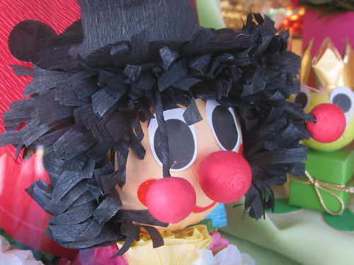 Festive Clown Decoration