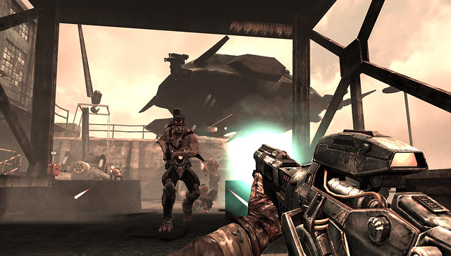 Resistance: Burning Skies for PS Vita - Hunter Rifle