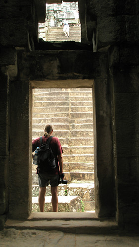 too many stairs (Angkor Wat)