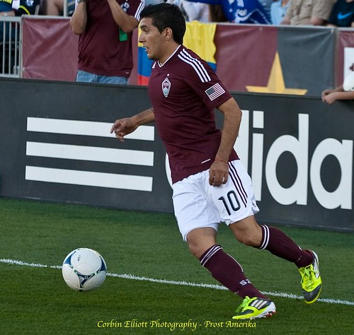 Martin Rivero Colorado Rapids 1 Apr 2012 by Corbin Elliott Photography