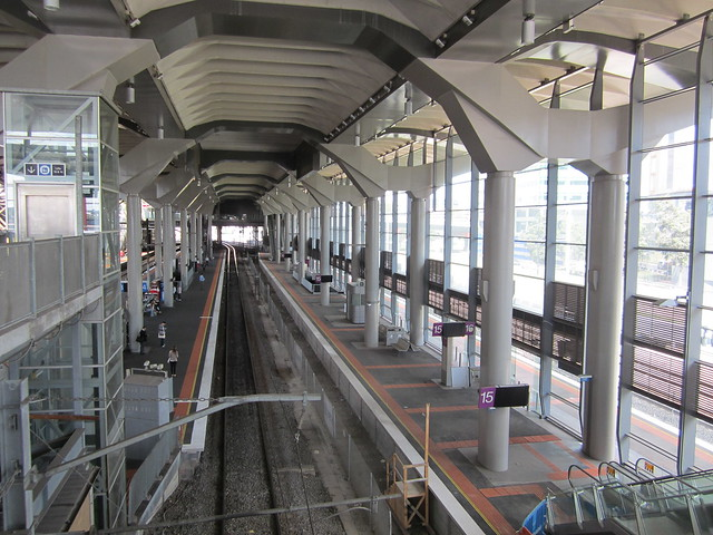 Regional Rail Link works at Southern Cross