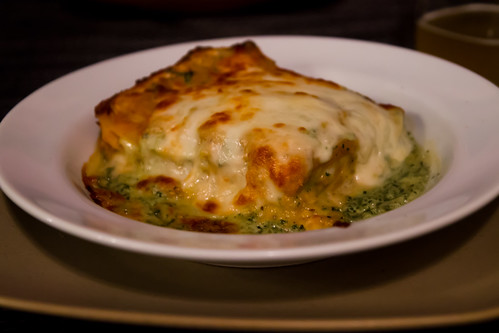 Butternut Squash Lasagna at Tin Front Cafe