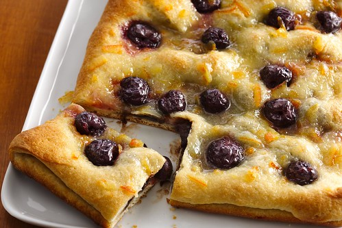 Dark Cherry-Chocolate Breakfast Pastry