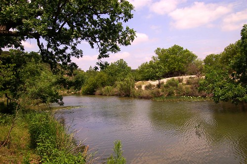 View of North Llano River