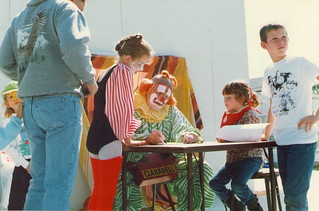 Clarabelle Signing Autographs