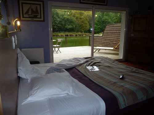 Vue de la chambre du pêcheur. La villa du guip en Bretagne sud dans le Finistère decouvrez quimper et bénodet, guilvinec