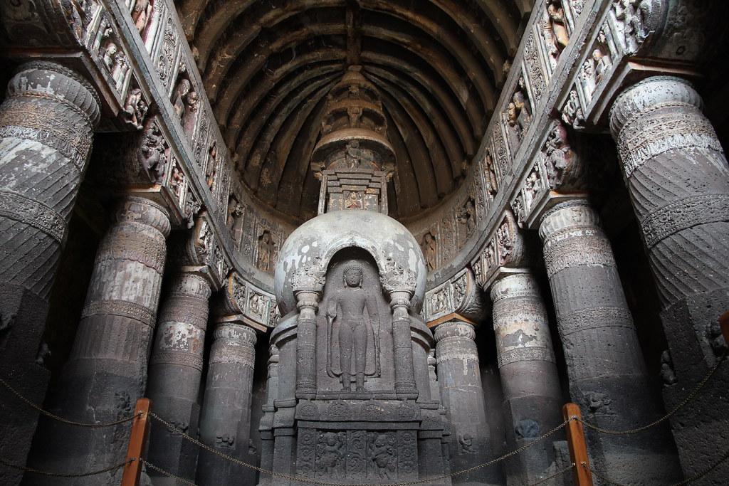 Cave 19, Ajanta Caves
