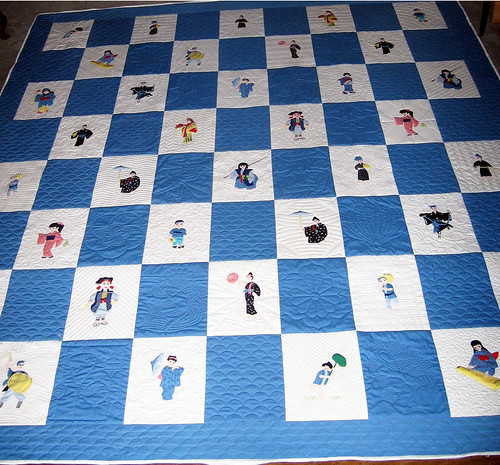 Kay's Quilt top from Okinawa