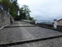 Path to the Morro del Tulcán