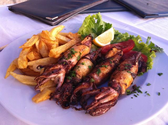 grilled calamari - a fave dish in Croatia | Flickr - Photo Sharing!