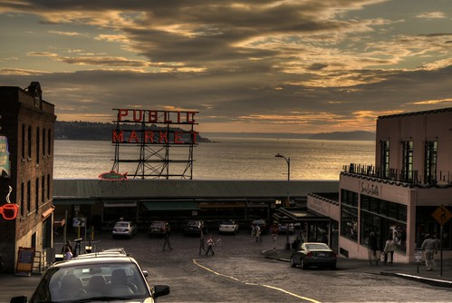 Pike Place Market, Seattle (HDR)