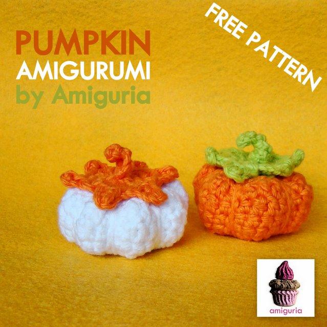 Amigurumi Pumpkin Crochet Pattern : FREE Amigurumi Pumpkin pattern (in spiral) by Amiguria ...