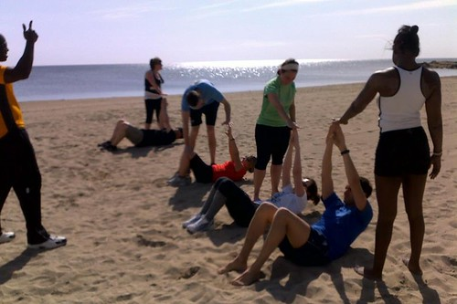 Health & fitness: Beach Training