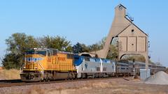 UP 4365 West, Amtrak Detour
