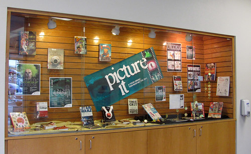 Library display case - Picture it @ your library!