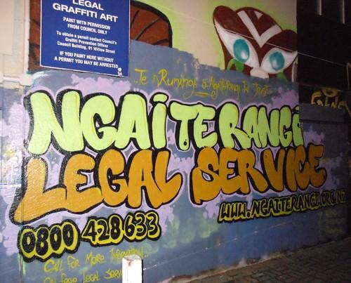 Legal Graffiti